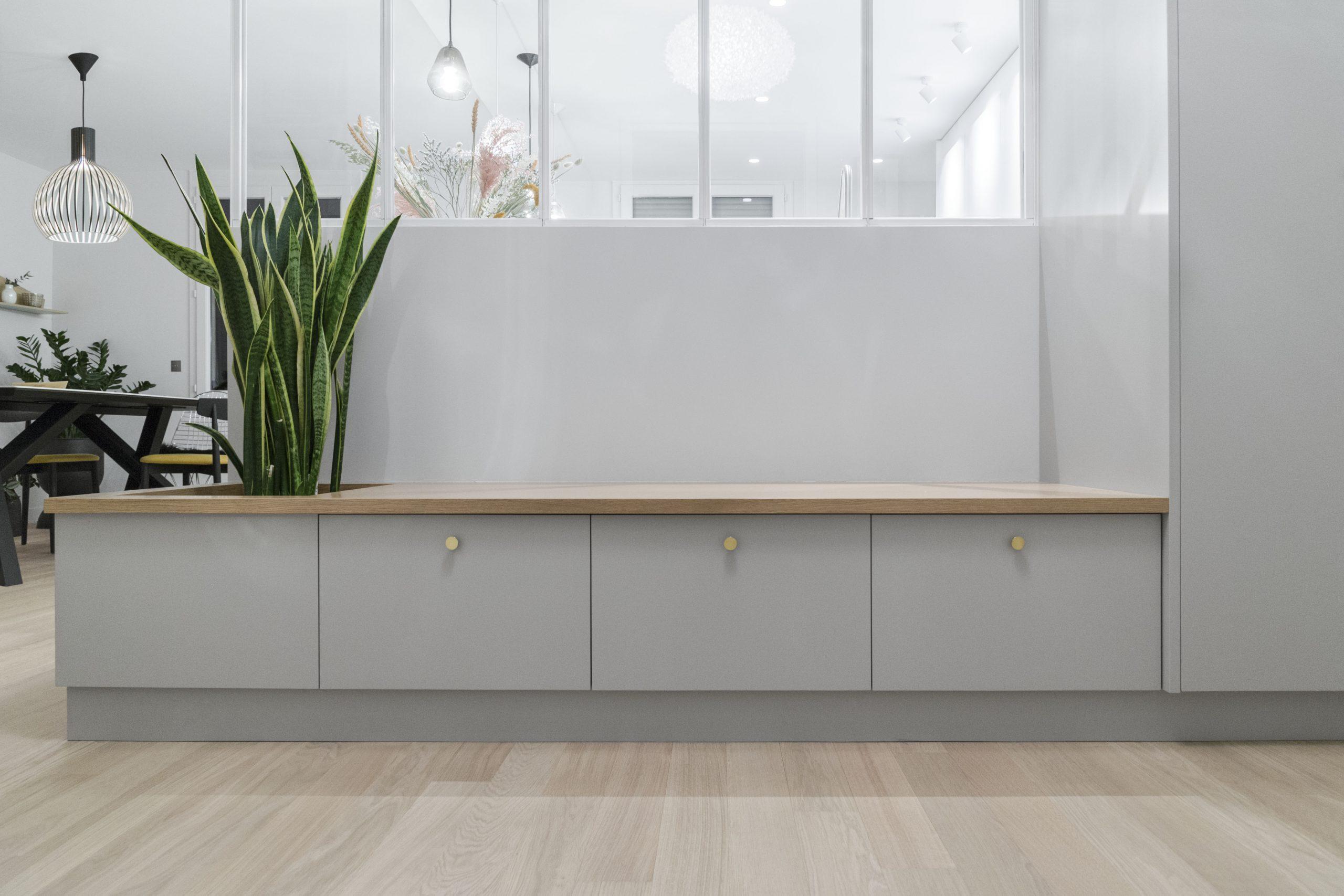 meuble sur-mesure pour entrée prestations décorateur intérieur