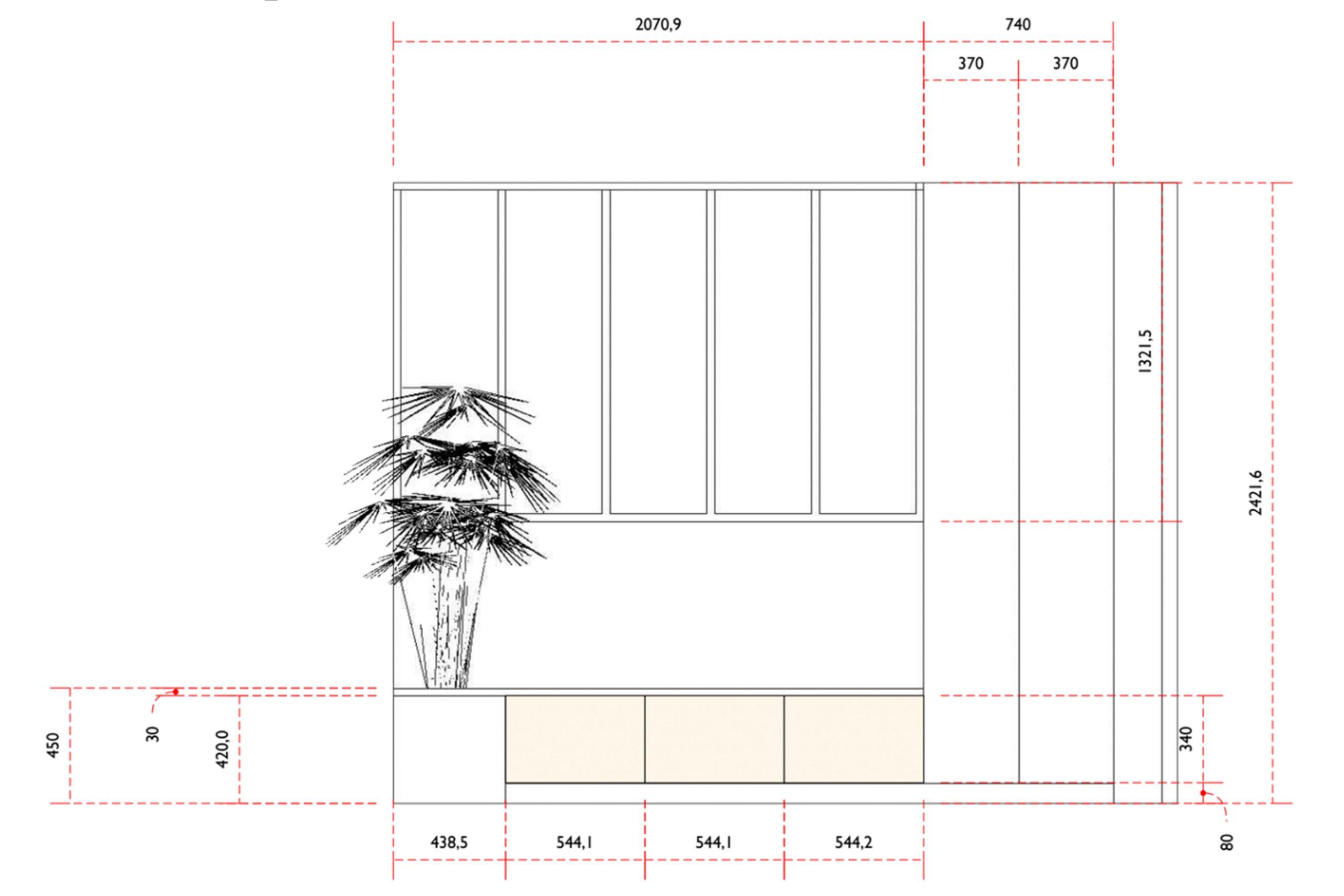 plan prestations décorateur intérieur