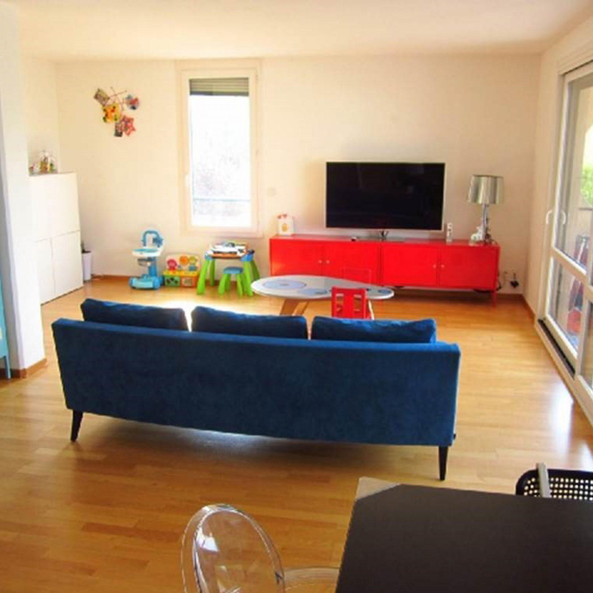 Avant décoration intérieur salon